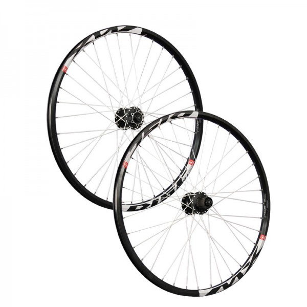 26inch bike wheel set Mach1 MX Disc Shimano M475 6 holes black
