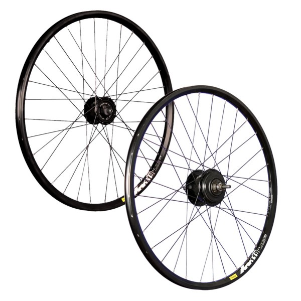 26inch bike wheel set Mavic XM119D with Shimano Alfine black