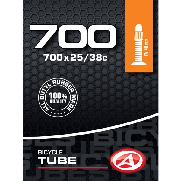 Bicycle tube 28 inch SV Presta valve 40mm 25/38-622 Trekking City
