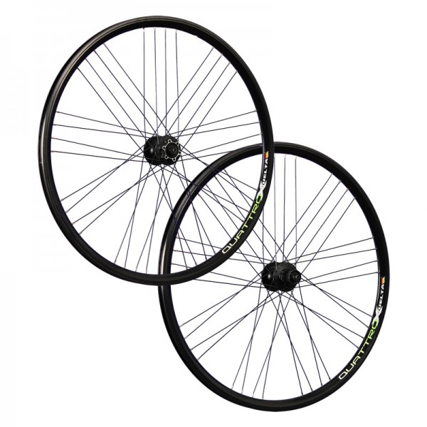 28 / 29 inch bike wheel set Airtec1 Shimano Deore HB / FH-M525 disc black
