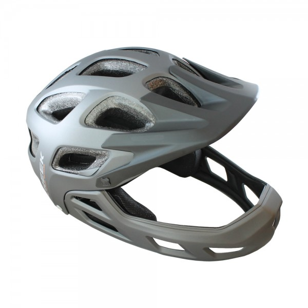 Author bicycle helmet fullface Creek FF size L 57cm-60cm BMX dirt grey