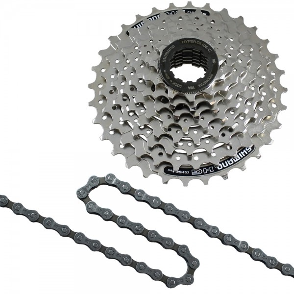 Replacement set cassette 8 speed chain HG40 cassette HG41