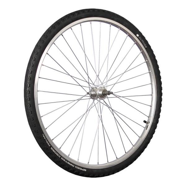 28 inch rear wheel double wall rim 5-8 speed and mounted tyre