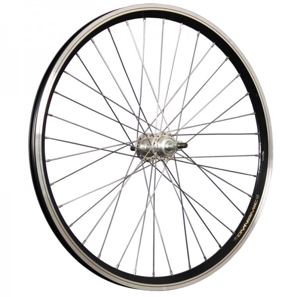 24inch bike rear wheel Dynamic4 6/7/8 speed freewheel black/silver