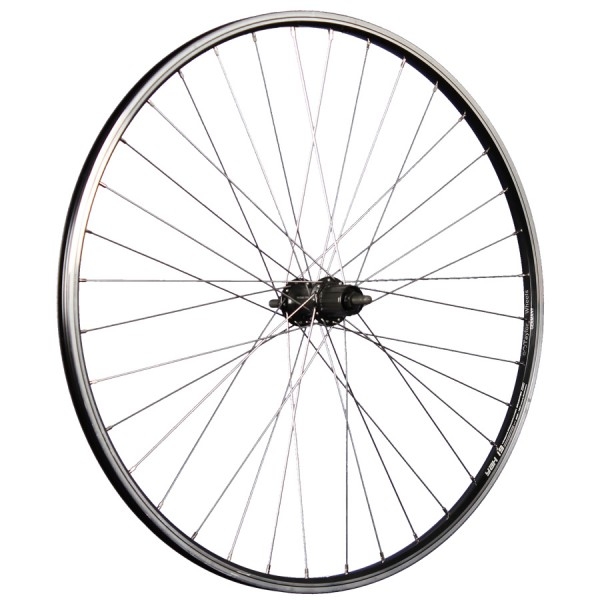 28inch bike rear wheel Yak19R with Shimano Tourney hub black