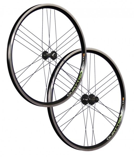 26inch bike wheel set Airtec1 Shimano HB / FH-RM40 black 24 holes