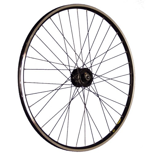 28inch bike front wheel Alfine sport hub dynamo DH-S501 black