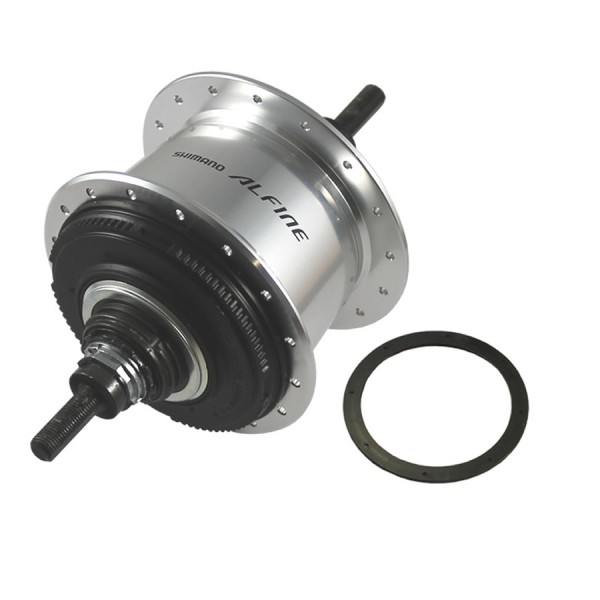 Rear wheel hub ALFINE 8 36 silver