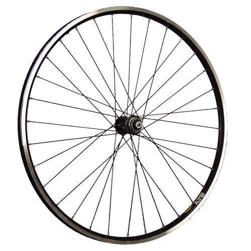 28inch bike front wheel A319 with Shimano Deore XT Disc black