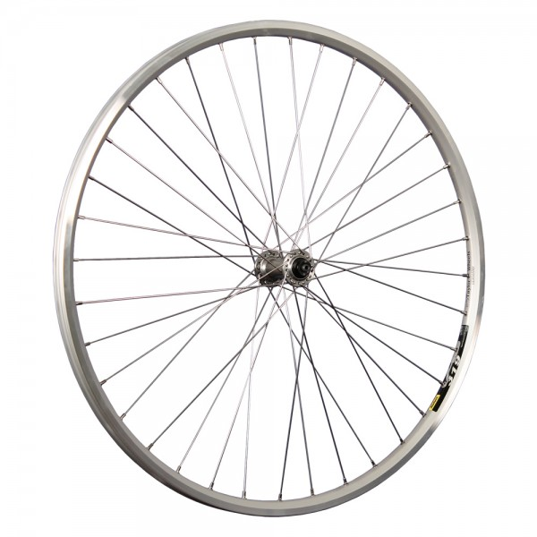 28inch bike front wheel 319 Deore HB-T610 622-19 stainless steel silver