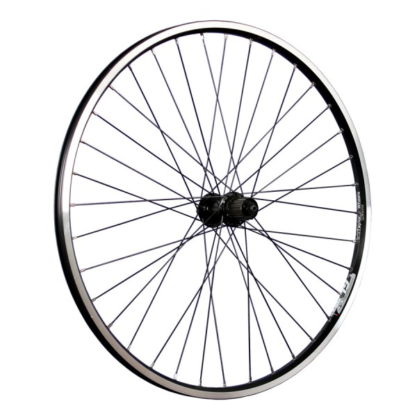 26inch bike rear wheel ZAC19 with Shimano Deore hub black