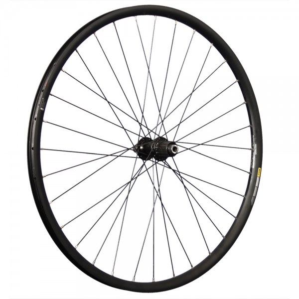 29 inch rear wheel Mavic 424 Shimano MT400BB 12x148mm thru axle Disc