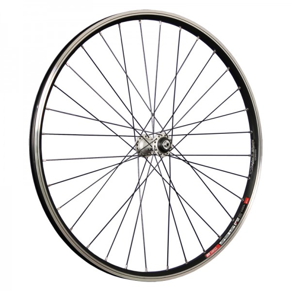 26inch bike front wheel DT Swiss 535 with Deore XT hub black