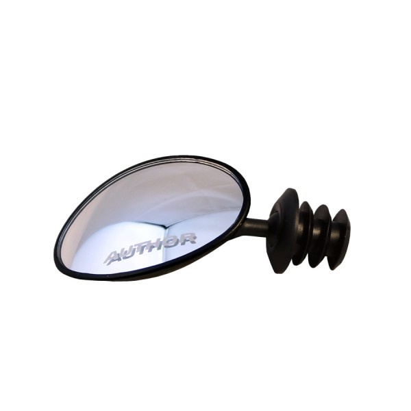 Bicycle mirror AM-70 Mini mirror, oval 70mm, convex lens, adjustable