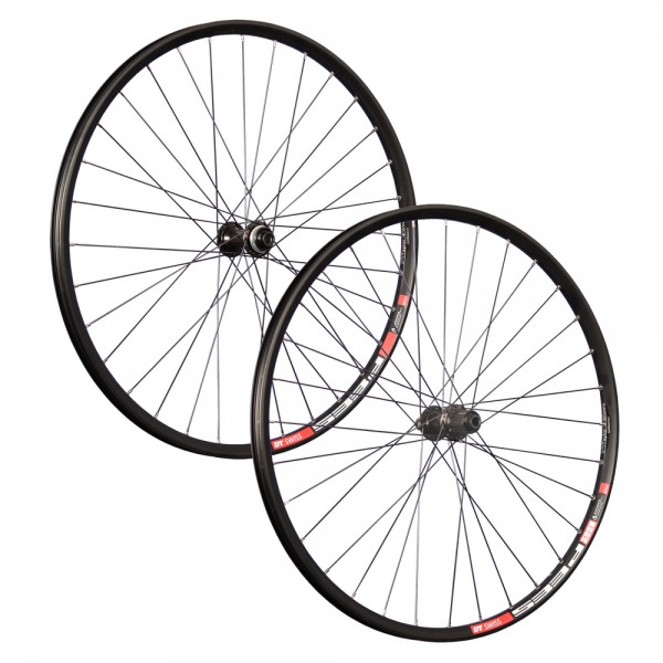 27.5 inch bicycle wheelset DTSwiss CL Disc Shimano Deore 100x142mm thru axle
