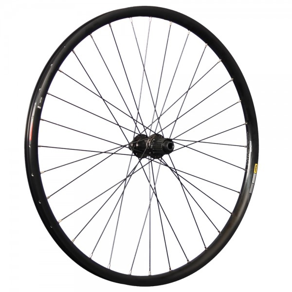 27.5 inch rear wheel Mavic 424 Shimano MT400 12x142mm thru axle Disc