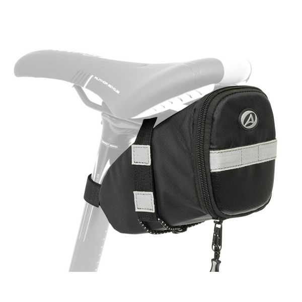 bike seat bag A-S315 tool bag water-repellent reflex black