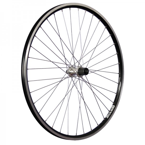 28inch bike rear wheel ZAC2000 TX500 7-10 622-19 black/silver