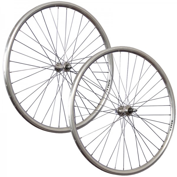 28inch bike wheel set Schürmann Euroline double wall 5-8 speed