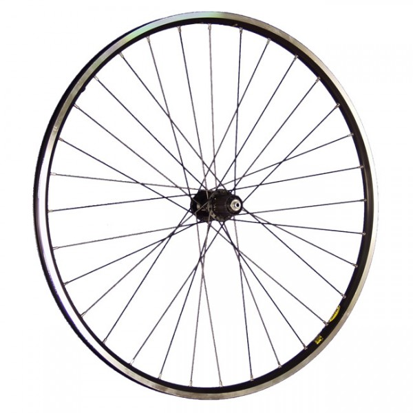 28inch bike rear wheel A319 with Shimano Deore XT Disk black