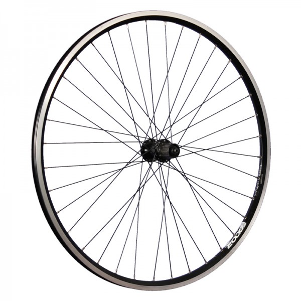 28 inch bike rear wheel Ryde ZAC2000 Shimano FH-T3000 7-10 black