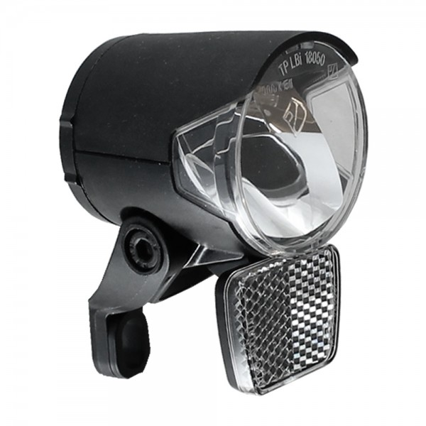LED headlight H-Black MR4 for dynamo - according to StVZO 120 lumens