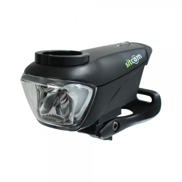 Bicycle LED Dragon front light 60 lux sensor battery headlight USB black