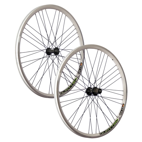26inch bike wheel set Airtec1 Shimano Deore HB / FH-T610 white