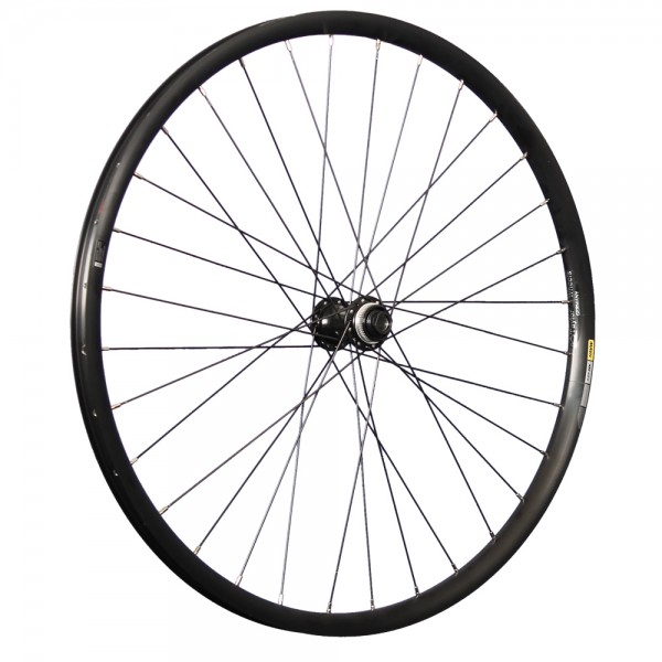27.5 inch front wheel Mavic XM424 Shimano MT400B 15x110 mm thru axle Disc
