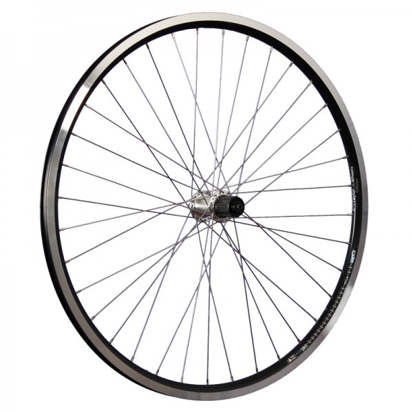 28 inch bike rear wheel Ryde X-Plorer Shimano TX500 black