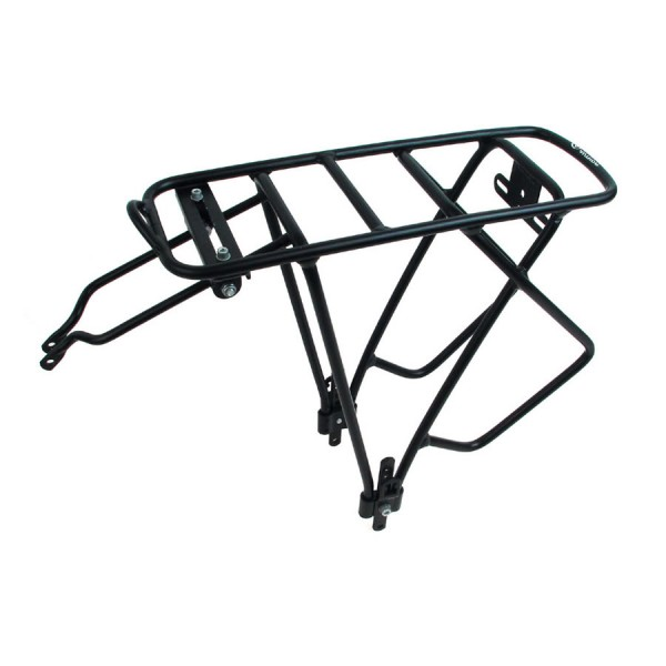 Bicycle pannier rack ACR-25 aluminum 26-29 inch to 25 Kg black