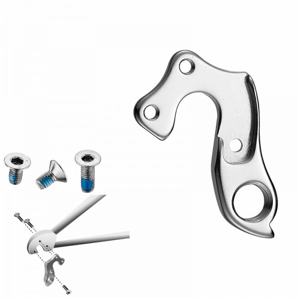 bike dropout derailleur hanger GH-057 set screw included