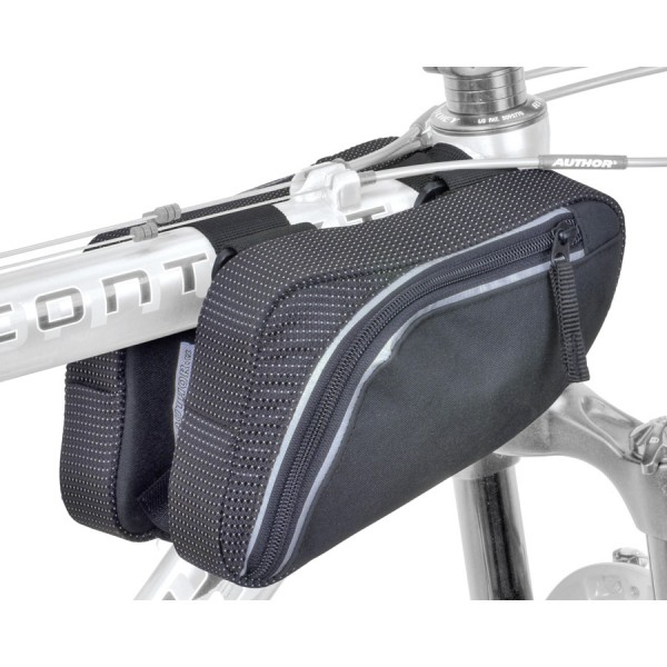 Bike case A-R281 frame bag front double universal reflex black