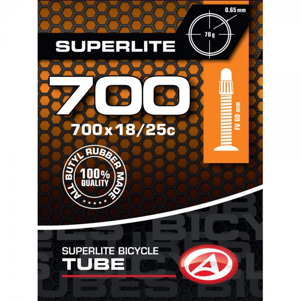 Bicycle tube 28 inch SV Presta valve 60mm 18/25-622 roadbike
