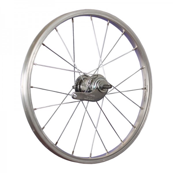 18inch rear wheel aluminium coaster stainless steel 355-19 silver