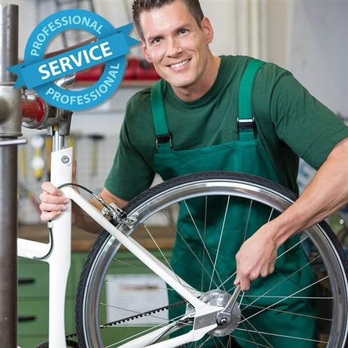 service: assembly of tyre