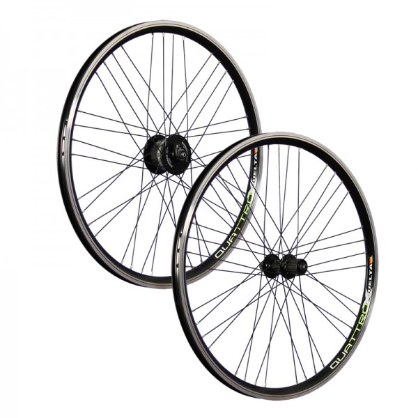 26inch bike wheel set Airtec1 Shimano DH-3N30 Deore 610 6 black