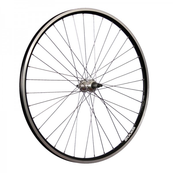 28 inch bike rear wheel Ryde ZAC2000 5-8 speed cogset black