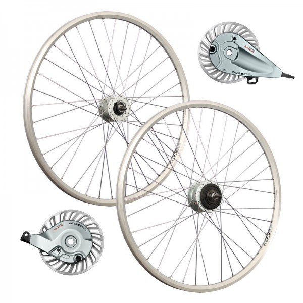 26inch bike wheel set Shimano hub dynamo Nexus Inter 8 rollerbrake