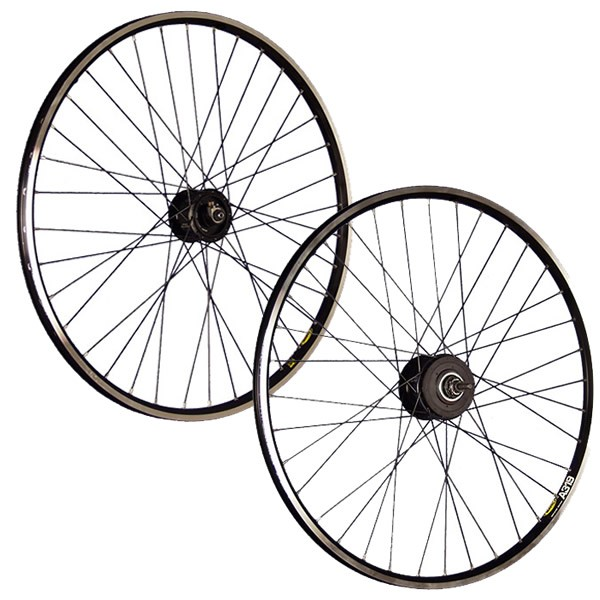 28inch bike wheel set Shimano Alfine hub dynamo 8-speed black