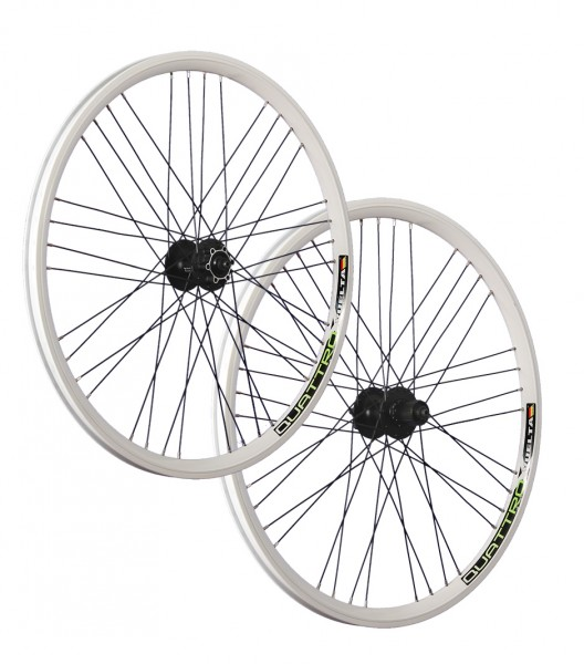 26inch bike wheel set Airtec1 Shimano Deore disc HB / FH-M525 white