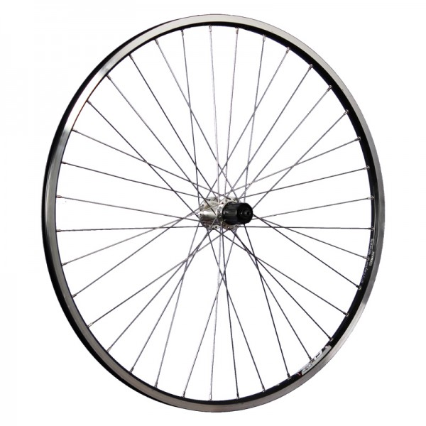 28 inch bike rear wheel Ryde ZAC19 Shimano Tourney TX500 black