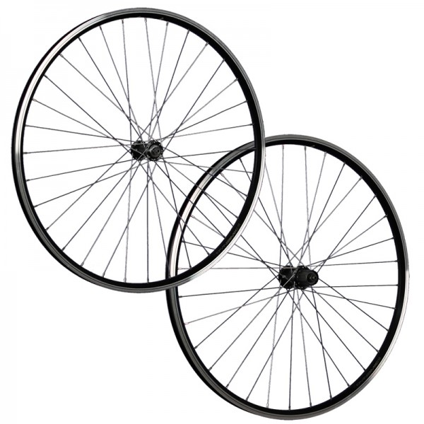 28inch bike wheel set ZAC19 Shimano Tourney TX500 622-19 black