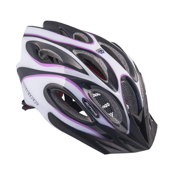 Bicycle helmet Skiff Size L 58cm-62cm Insect protection Dial-Fit pink