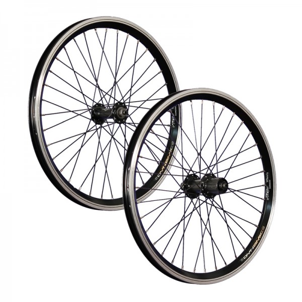 20inch bike wheel set Shimano FH TX500 7-10 black