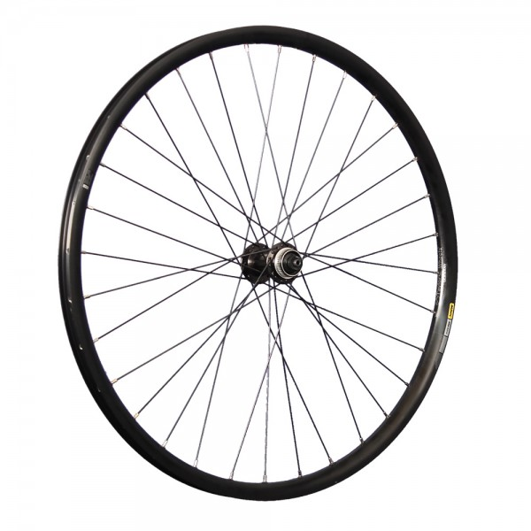 27.5 inch front wheel Mavic XM 424 double wall rim Shimano M4050 CL Disc
