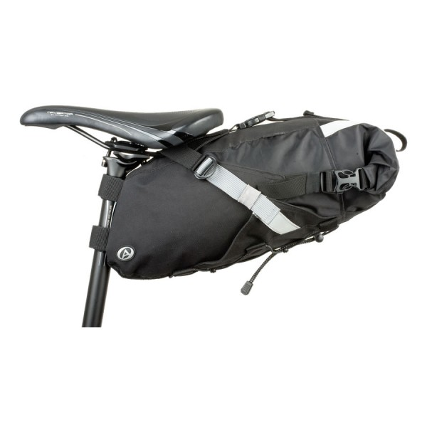 bicycle seat bag A-S3152 X7 SuMo 12 liter Nylon reflex black