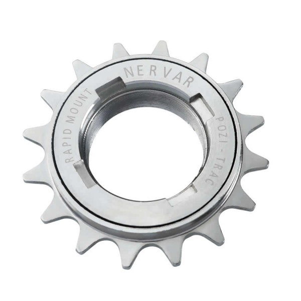 freewheel singlespeed sprocket for BMX 16 teeth silver