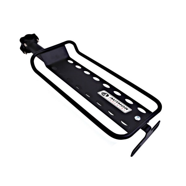 Bicycle pannier rack ACR-149 Aluminum for seatpost up to 10Kg black
