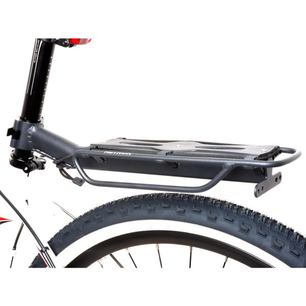Bicycle pannier rack ACR-160 Aluminum for seatpost up to 10Kg black